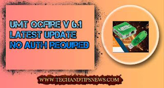 UMT QcFire v6.1 - new latest update setup Redmi Note 8 - Mi 8 - CC9e and more No Auth required free download