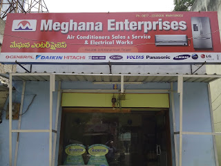 MEGHANA ENTERPRISES AC DEALERS  Multi Brand a/c shopee Tirupati
