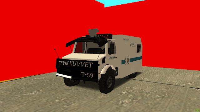 MTA SA Çevik Kuvvet T-59 Araba Scripti