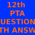 12TH MATHEMATICS PTA BOOK QUESTION WITH ANSWER MARCH 2020: