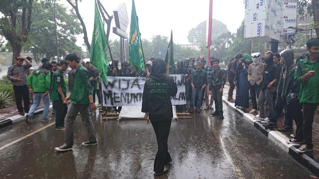 Mahasiswa Luwu Tuntut Kapolda Evaluasi Kinerja Polrestabes
