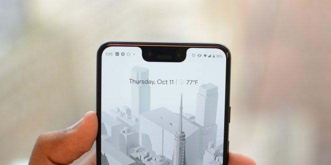 كيف يمكنك اخفاء (النوتش) في هاتف جوجل Pixel 3 XL