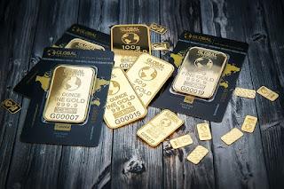 8 jenis emas 18 sampai 24 karat