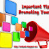 Important Tips to Promoting Your Site