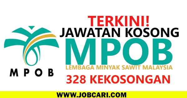 JAWATAN KOSONG LEMBAGA SAWIT MALAYSIA 2016