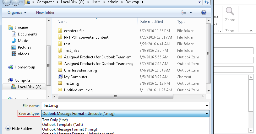 Best Way To Convert Microsoft Outlook Msg File To Thunderbird Eml