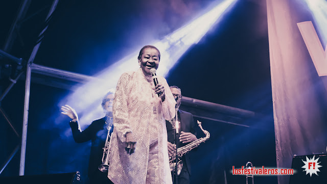 Calypso Rose  @Colours of Ostrava 2019