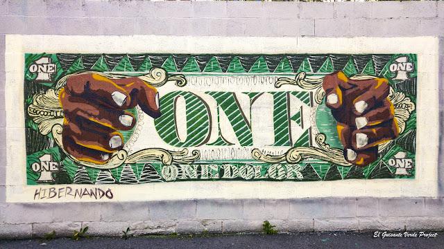 Mural 'One Dolor', de Hibernando, Olabeaga - Bilbao, por El Guisante Verde Project