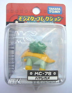 Grotle Pokemon Figure Takara Tomy Monster Collection MC series