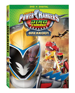 DVD Review - Power Rangers Dino Charge: Breakout