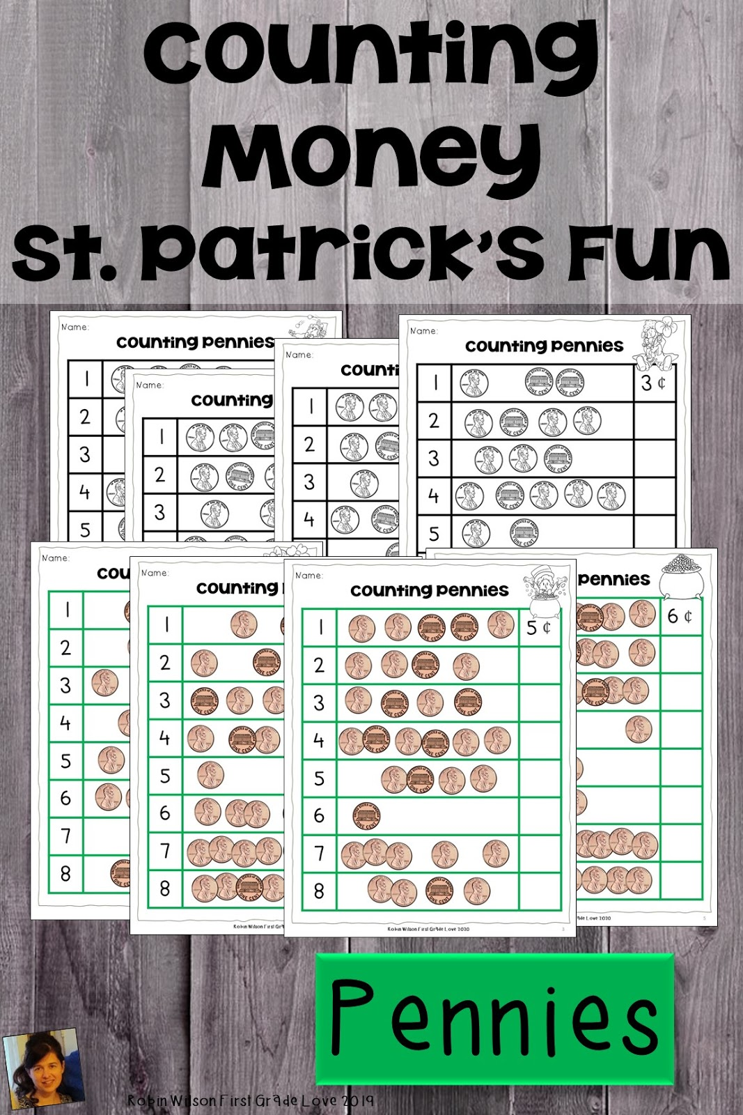 St Patrick S Day Counting Money First Grade Game