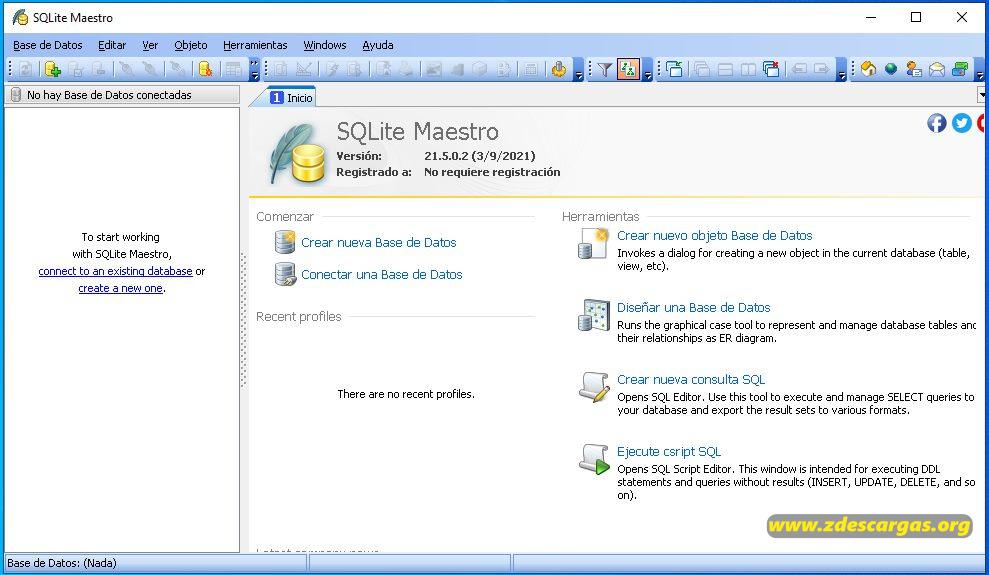 SQLite Maestro 2021 Full Español