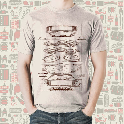 BLT T-Shirt by Deli Fresh Threads