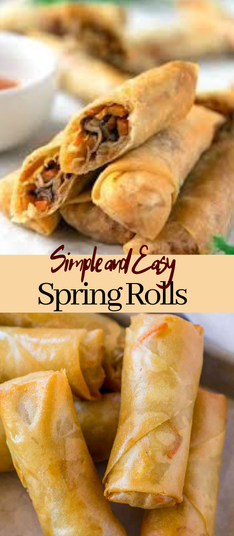 Spring Rolls #vegan #vegetarian #soup #breakfast #lunch