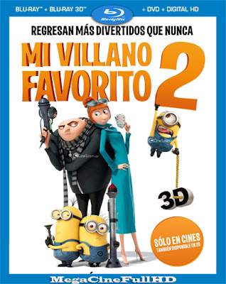 Mi Villano Favorito 2 (2013) Full HD 1080P Latino