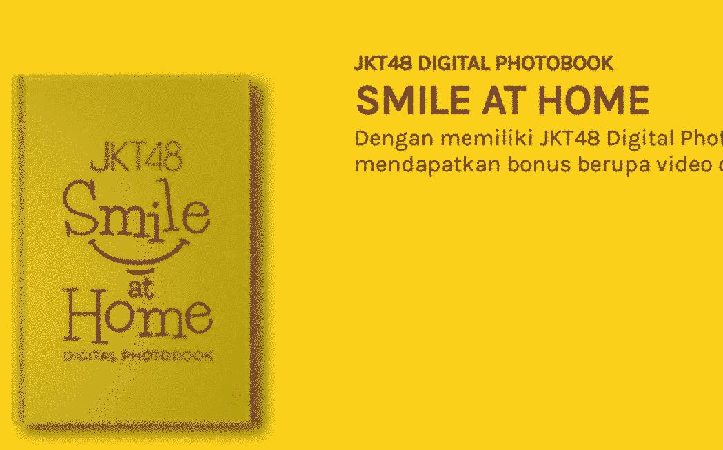 isi jkt48 photobook smile at home foto