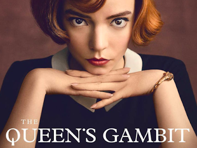 Publicity poster for The Queen's Gambit