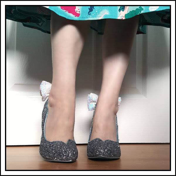irregular choice disney cinderella sparkling slipper shoes