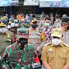 Kapolda Sulsel Bersama Gubernur dan Pangdam Hasanuddin, Sidak Protokol Kesehatan Masyarakat Kota Makassar