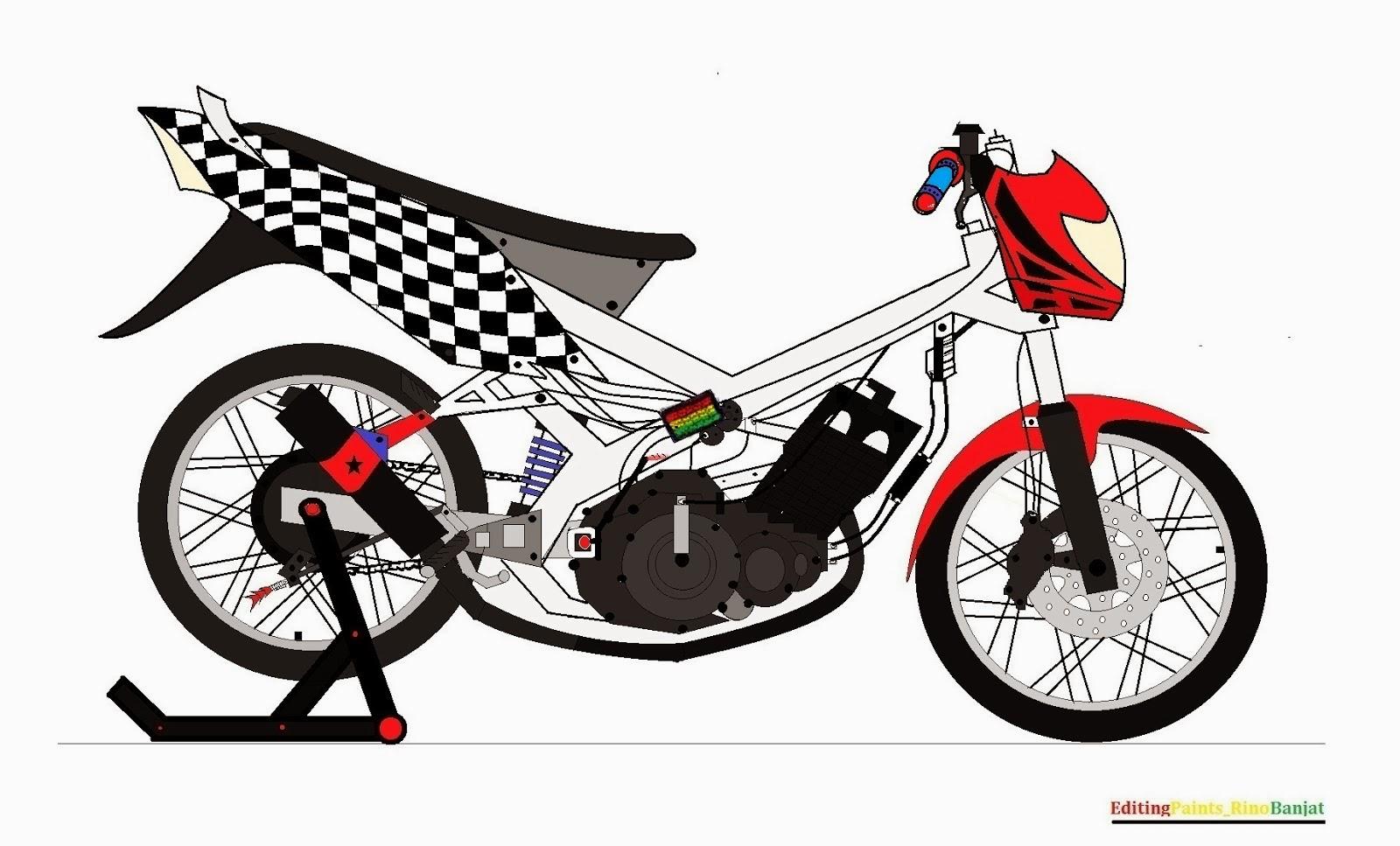 Gambar Kartun Motor Mogok Galeriotto