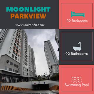 bán gấp căn hộ moonlight park view 2 phòng ngủ bình tân