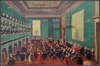 Η αίθουσα συναυλιών στο Ospedale della Pieta