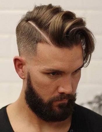 gaya rambut undercut tampak depan belakang