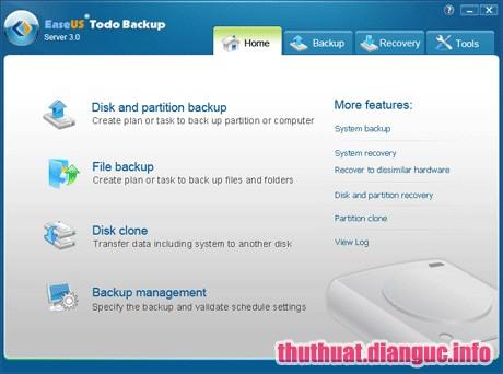 Download EaseUS Todo Backup 12.0.0.1 Full Cr@ck