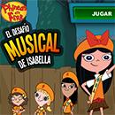 Phineas y Ferb: El musical de Isabella juego