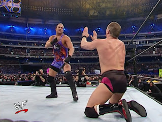 WWE / WWF Wrestlemania 18 - William Regal begs off from RVD