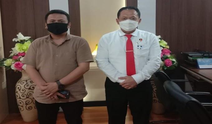 Dikunjungi PWI Banten, Ditreskrimsus Polda Banten Paparkan Program Kerja