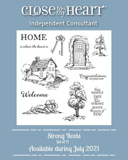 Strong Roots Stamp Set