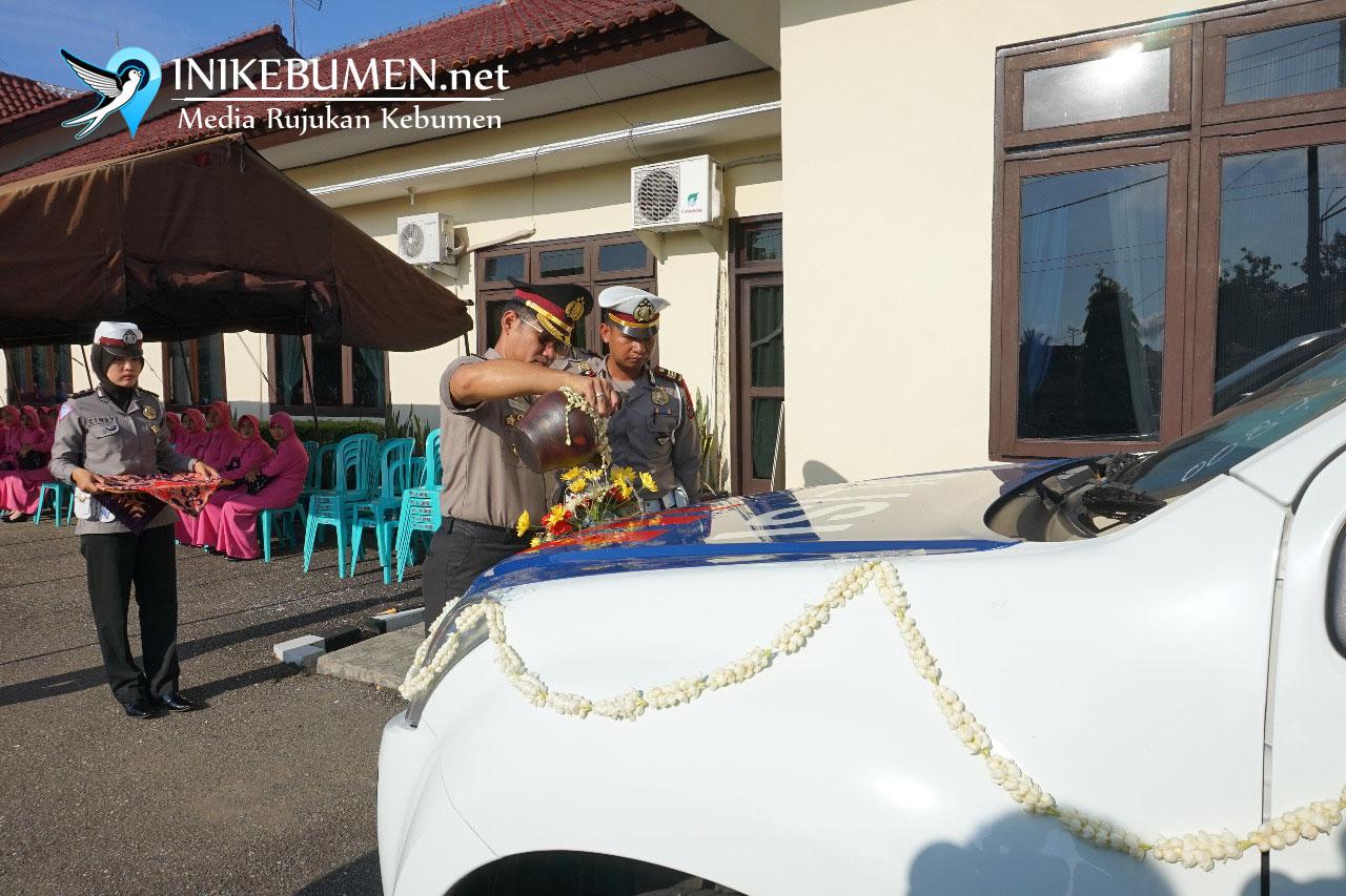 Sat Lantas Polres Kebumen Miliki Mobil Patroli Baru