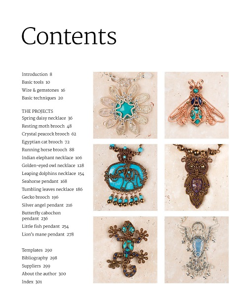 Book Review and Giveaway : Mastering Wirework Jewelry ~ The Beading ...