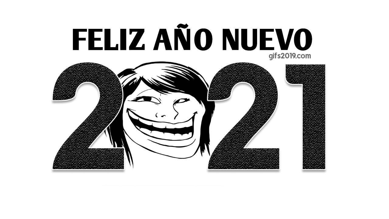 imagen meme feliz año nuevo 2021
