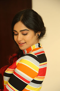 Adha Sharma in a Cute Colorful Jumpsuit Styled By Manasi Aggarwal Promoting movie Commando 2 (108).JPG