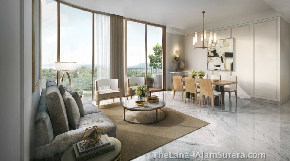 Interior Design Apartment The Lana Alam Sutera