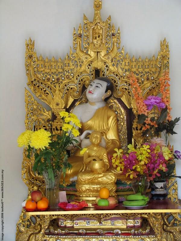 Thera Upagupta was a disciple of Buddha's attendant Ananda Thera
