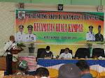 Di Akhir Purna Tugas, Bupati Harris Pamit Saat Pelaksanaan Musrenbang di Kuala Kampar