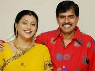 Actress Roja Family Husband Parents children's Marriage Photos