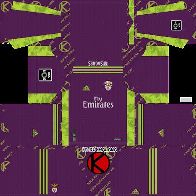 S.L. Benfica Kits 2020 - DLS2019 Kits