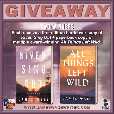 River, Sing Out tour giveaway graphic. Prizes to be awarded precede this image in the post text.