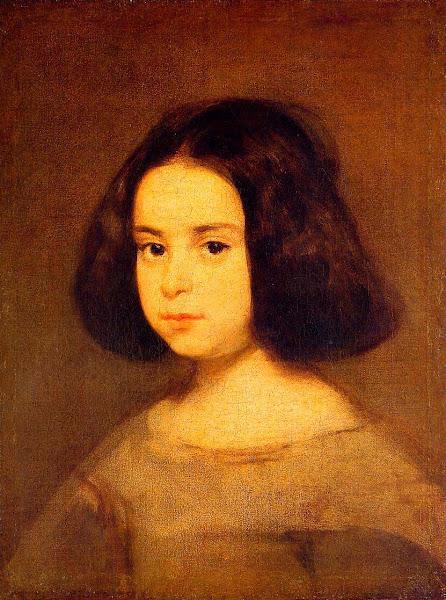 Диего Веласкес - Портрет маленькой девочки (1640)