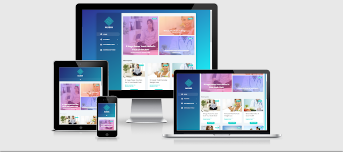 Nubia Premium Blogger Template - Free Download