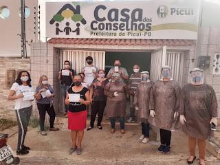 Servidores da Comarca de Picuí participam de testagem para a Covid-19 e são imunizados contra a H1N1
