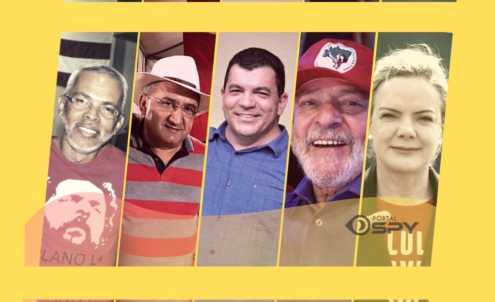PT de Juazeiro realiza encontro municipal virtual com participação de Lula e diversas outras lideranças - Portal Spy Noticias Juazeiro Petrolina