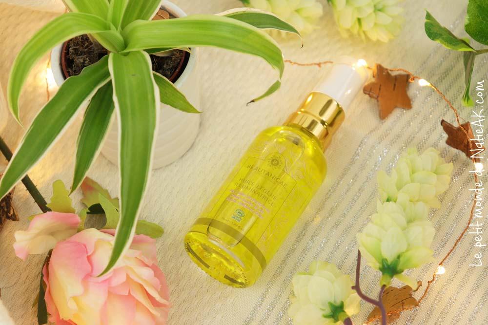 huile légère  illuminatrice Beautanicae bio