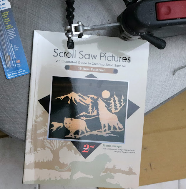scroll saw pictures book