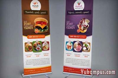 contoh iklan media cetak di banner