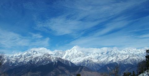 हिमालयी दृश्य
